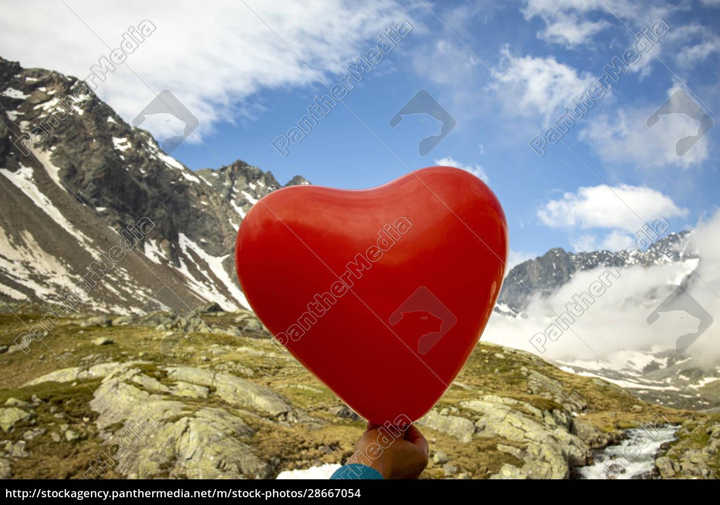 balloon, heart - 28667054