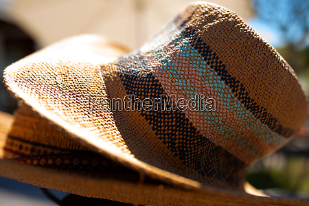 straw hat for sun protection