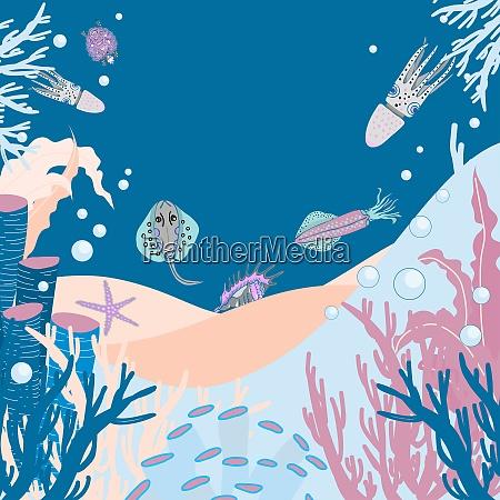 marine life the inhabitants of the
