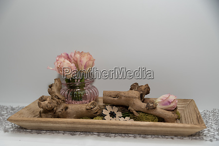 artificial easy care table decoration