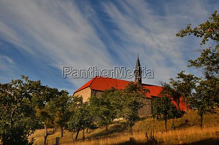 church of wittenburg near elze