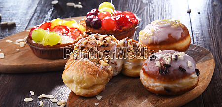 composition with confectionery products