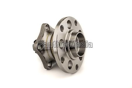 wheel hub assembly on white