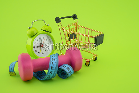 going shopping for sports diet