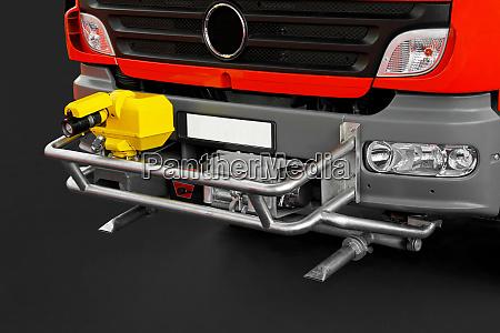 fire truck canon