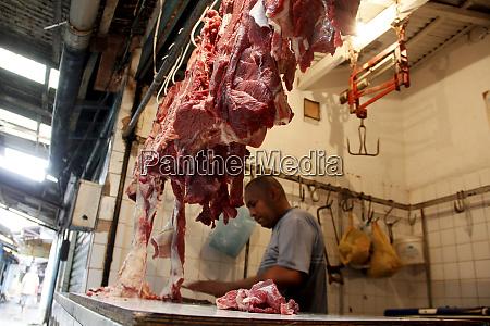 bolvina meat exposed in salvador fair