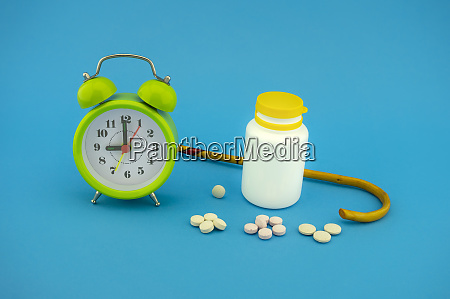 old age medication and healthcare concept