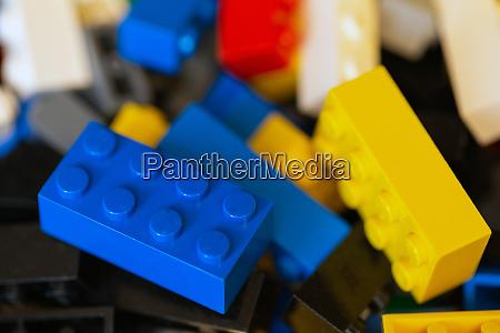 plastic toy blocks various colored lego
