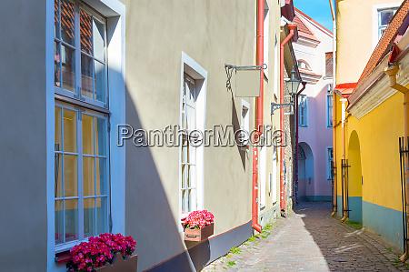 old town street tallinn