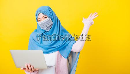 asian muslim arab young woman islam