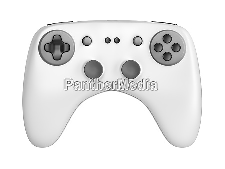 front view of game controller