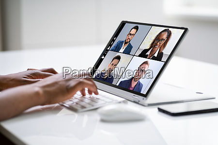 online video conference work call