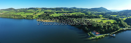 the rottachsee near sulzberg is a