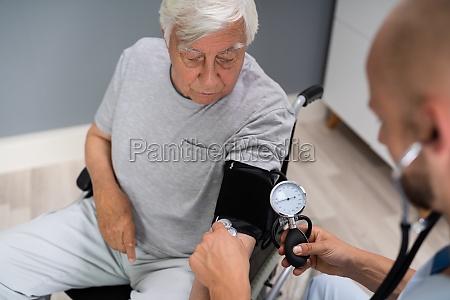 high cardiovascular blood pressure