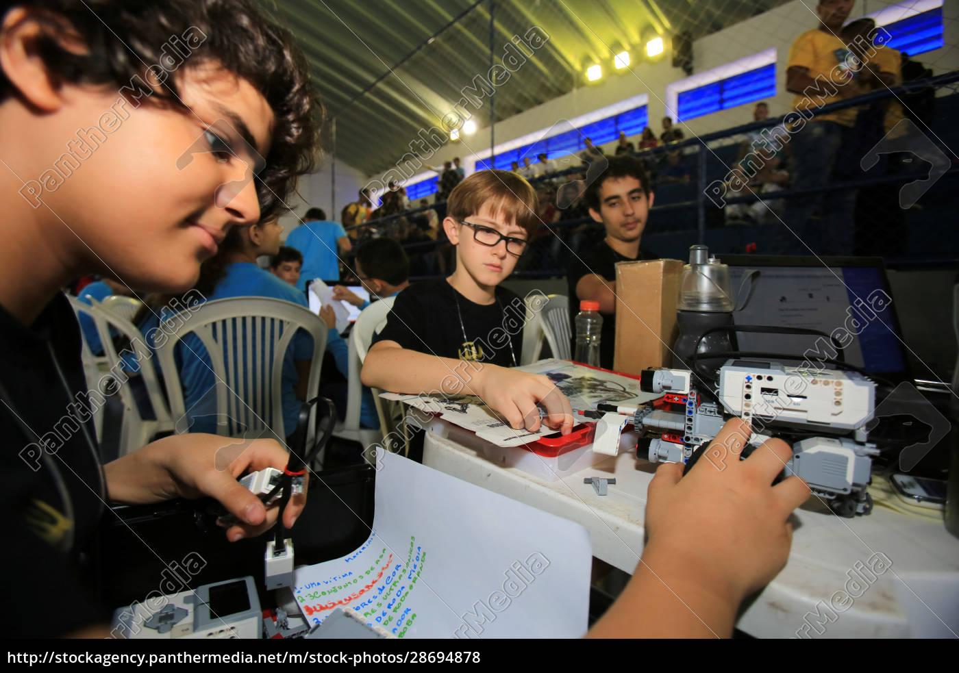 brazilian, robotics, olympics, in, salvador - 28694878