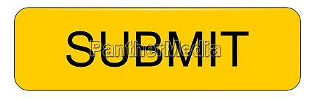 yellow submit button on white backround