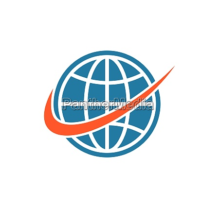 globe global business network connected logo