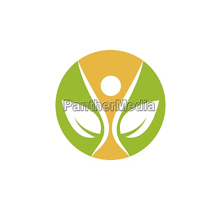 healthy, life, people, medical, logo, template - 28701716