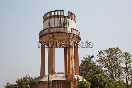 reservoir tower in bissau