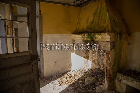 ruins of a farm house