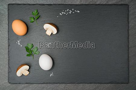 mushroom omelet ingredients
