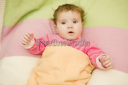 young baby portrait