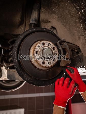mechanical change bearing wheel