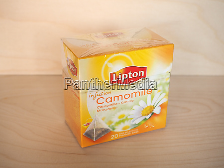 london jul 2020 lipton camomile