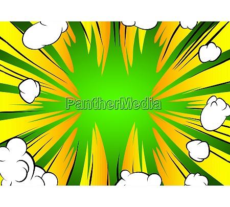 cartoon design colored background