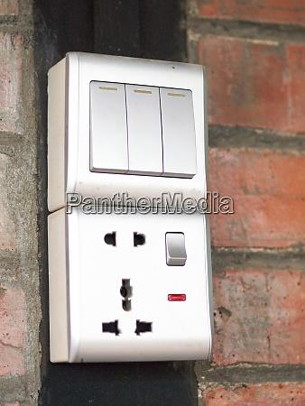 three key switch gray on the