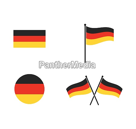 germany flag vector illustration design