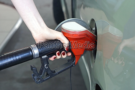 filling car