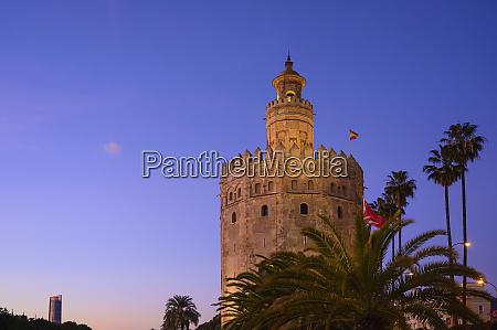 spain seville torre del oro torredeloroat