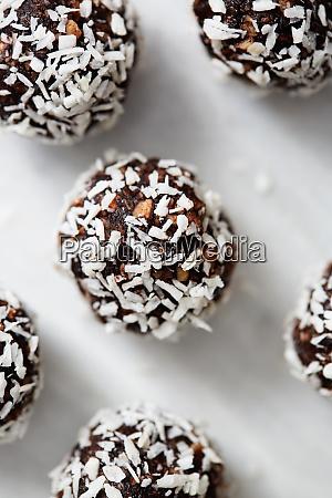 coconut energy treats