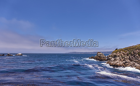 usa california rocks on sea coast