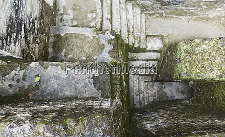 belize view of ancient ruins