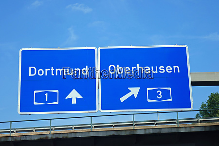 federal motorway dortmund oberhausen