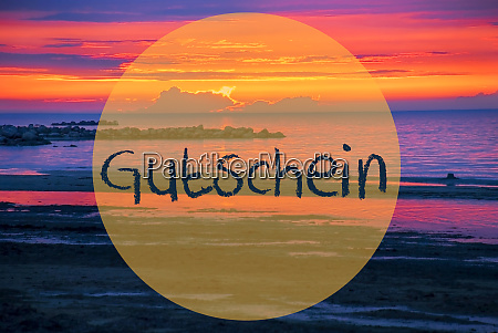 sunset or sunrise at sweden ocean
