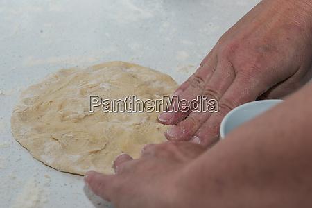 yeast dough for yeast dumplings