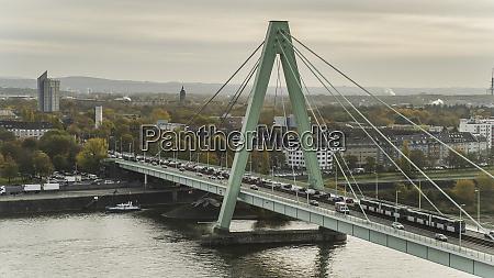 traffic, on, bridge, over, rhine, river, - 28723846