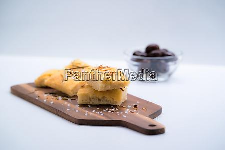 italian focaccia with onion