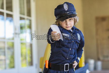 4 year old boy dressed as