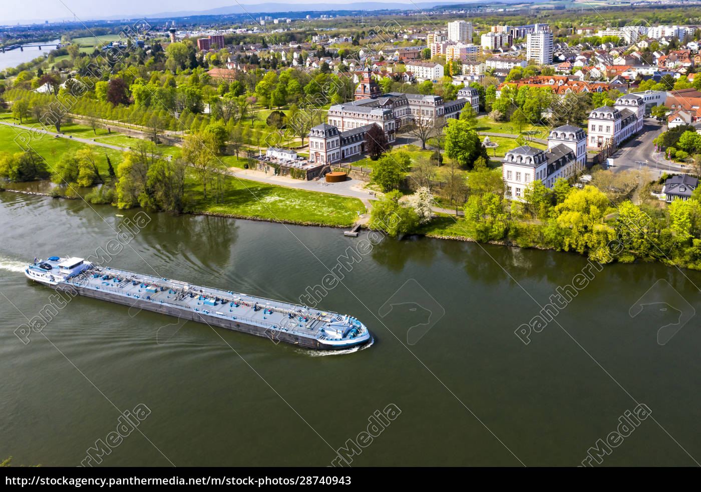 germany, , hesse, , hanau, , helicopter, view, of - 28740943