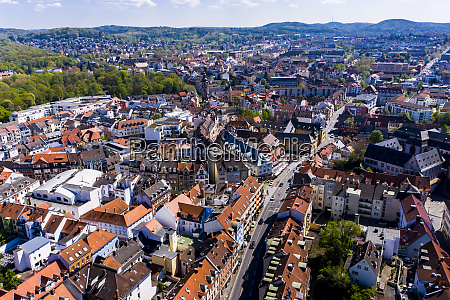 germany, , bavaria, , aschaffenburg, , helicopter, view, of - 28741013