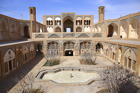 friday mosque kashan isfahan iran