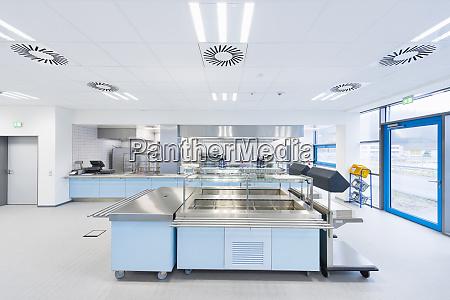 empty factory canteen