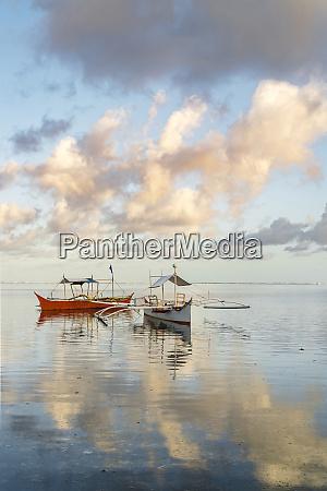 philippines siargao general luna fishing boat