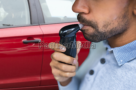 breathalyzer alcohol test device