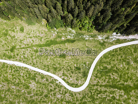 italy province of udine tarvisio drone