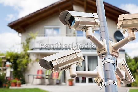 cctv security video cameras watching